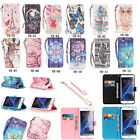 Strap Bling High Wallet Card Holder Leather Case Cover For iPhone Huawei LG YB