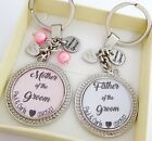 S.Keyring SET Wedding,Mother of the Groom,Father of the Groom thank you gift 10