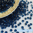 4.5mm Navy Blue Acrylic Diamond Confetti Wedding Party Decor Table Scatters