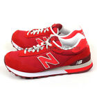 New Balance WL515SLB B Red & White Suede Classic Casual Lifestyle Shoes 2016 NB