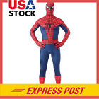 Spiderman Superhero Costume Halloween Party Adult Cosplay bodysuit Fancy Dress +