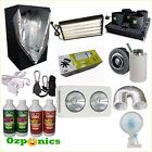 PREMIUM GROW TENT T5 CFL LED GROW LIGHT INLINE FILTER HYDROPONIC SYSTEM KIT