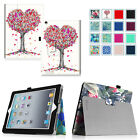Apple iPad 2/3 & iPad 4 with Retina Display Folio Stand PU Leather Case Cover