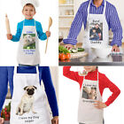 Personalised Apron-Any Image/Text Adults and Children - Birthday/Christmas Gifts