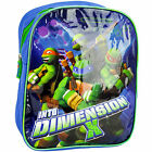 CHILDREN'S NINJA TURTLE RUCKSACK/BACKPACK WITH PADDED ADJUSTABLE SHOULDER STRAPS