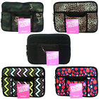 1Pce Mini Ipad Soft Zip Case/Cover/Pouch With Extra Pockets, Neoprene