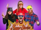 Sun-Staches Shades Sunglasses Dress Up Super Hero Halloween