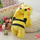 Cute Pokemon Pikachu Pet Clothes Dog Cat Weater Hoodie Coat Kitten Costume
