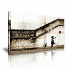 Banksy Balloon Girl Hope Canvas Abstract Modern Wall Art Print Deco