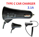 New Type C Fast Car Charger 2.1A FOR ALL TYPE C DEVICES (SELECT)