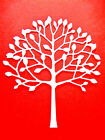 8 Arboscello Tree Die Cuts, Birthday, General Cards. Mb. Choose Colour & Card!
