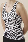 Pizzazz® Animal Print Racer Back Top BRAND NEW!