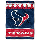 Houston Texans 12th Man NFL Twin Full Plush Korean Mink Style 60x80 Blanket