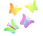8 Sets - Beautiful Layered Butterfly Die Cuts, Mother's Day, Thank You, Birthday