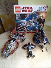 Star Wars Lego 7753 Weequay Pirate Tank & 8086 droid tri fighter and *free toy*