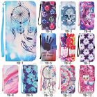 Fashion Magnetic Flip Pattern Hybrid Stand PU Leather Cover Case For Samsung Lot