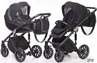 ANEX sport pram + stroller 3 in 1 bassinet carry cot light