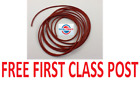 NEW SILICONE 60 O-RING CORD 6.35MM DIAMETER (1/4 INCH), ANY LENGTH FROM 1 METRE