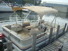 1989 Riviera cruiser pontoon 40hp Force by Mercury engine with trim NO Reserve