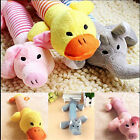 Pet Puppy Chew Squeaker Squeaky Plush Sound Pig Elephant Duck Ball For Dog's Toy