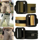 Survival Army Tactical Nylon Belt Emergency Rescue Rigger Military Durability
