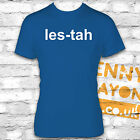 LESTAH BLUE - KASABIAN EEZ EH T SHIRT LES-TAH LEICESTER CITY - SERGIO PIZZORNO