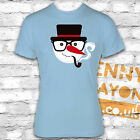 RETRO SNOWMAN WITH GLASSES TSHIRT -FUNNY CHRISTMAS PRESENT -STOCKING FILLER GIFT