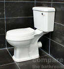 Carlton Close Coupled Toilet Including Soft Close Seat Traditinal Style WC