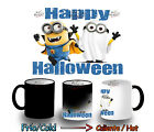 TAZZA MAGICA HAPPY HALLOWEEN MINION GHOST MAGIC MUG tasse ITALY