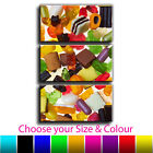 Sweets TREBLE CANVAS Wall Art Print Picture Various Sizes 10