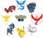 POKEMON GO TEAM STICKER WALL DECO LOT PM1S LOTS OF CHOICE!