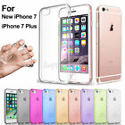 For iPhone 7 6 6S 5S Case Transparent Crystal Clear Case Gel TPU Soft Cover Skin