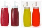 Plastic Squeeze Sauces Bottles Different Colors Kitchen Barbecue Sauce Dispenser