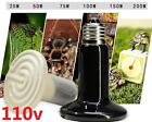 DZ1076* Ceramic Infrared Heat Emitter E27 Lamp Light Bulb for Reptile Pet 110V