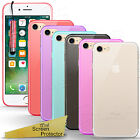 For Apple Iphone Phone Models - Clear Thin Gel Case Cover + Screen Protector