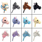 NEW Kids Hobby Horse Unicorn Children's Soft Toy with Galloping Neighing Sounds