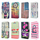 New Wallet Flip PU Leather Phone Case Cover For Apple iPhone 6S 5C - Owl anchor