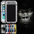 Waterproof Shockproof Gorilla Glass Aluminum Metal Case Cover For iPhone 7 Plus