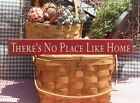 Primitive There's No Place Like Home handcrafted country sign