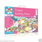 Anker Childrens Travel Activity Packs Holiday Puzzles Colouring Car Games Toy
