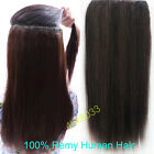 """16""""-22"""" Indian Remy Human Hair One Piece Volumizer Clip In Extensions 100g-160g"""