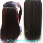"16""-22"" Indian Remy Human Hair One Piece Volumizer Clip In Extensions 100g-160g"