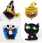 Halloween Foil Balloons, Halloween party balloons, pumpkin, witch, cat, dracular