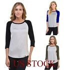 Women Fashion Blouse Summer Casual Loose Long Sleeve Blouse Casual T-shirt Tops