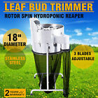"18"" Hydroponics Leaf Bud Trimmer Machine Clear Top Professional Reaper Twigs"