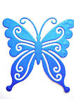 8 Embossed Butterfly Die Cuts, Birthdays, Md. Any Colour/Card