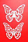 8 Butterfly Duo Die Cuts, 4 Each, 2 Designs, Birthdays, Sizzix. Any Colour/Card