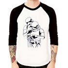 STORM TROOPER FAMILY funny Baseball Jersey t-shirt 3/4 sleeve Raglan
