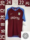 ASTON VILLA BNWT PLAYER ISSUED 08 09 Home Football Shirt L Soccer Jersey