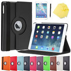 Luxury Magnetic Leather Cover Case 360 Rotating For Apple iPad 2/3/4 mini 1/2/3